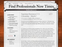 Find Professionals Now - Blog